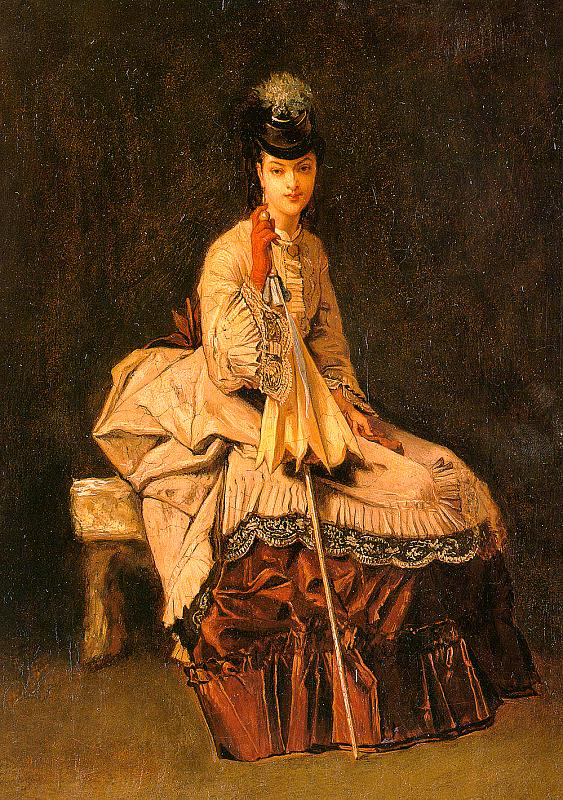 Jules-Adolphe Goupil Lady Seated