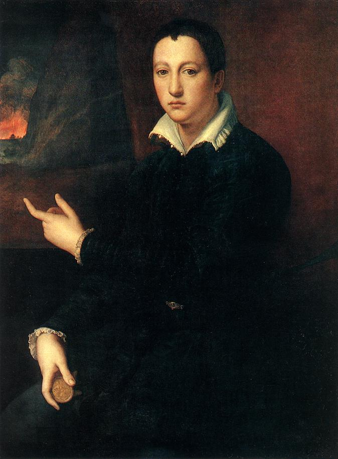 ALLORI Alessandro Portrait of a Young Man  hgjgh