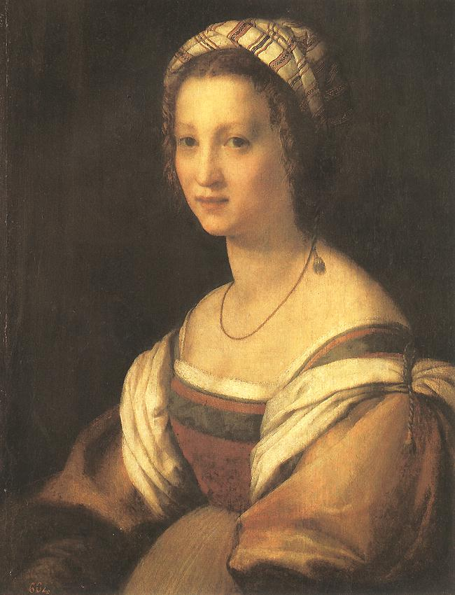 Andrea del Sarto Portrait of the Artist s Wife