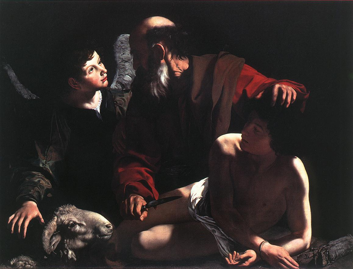 Caravaggio The Sacrifice of Isaac
