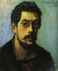 Charles Laval self-Portrait