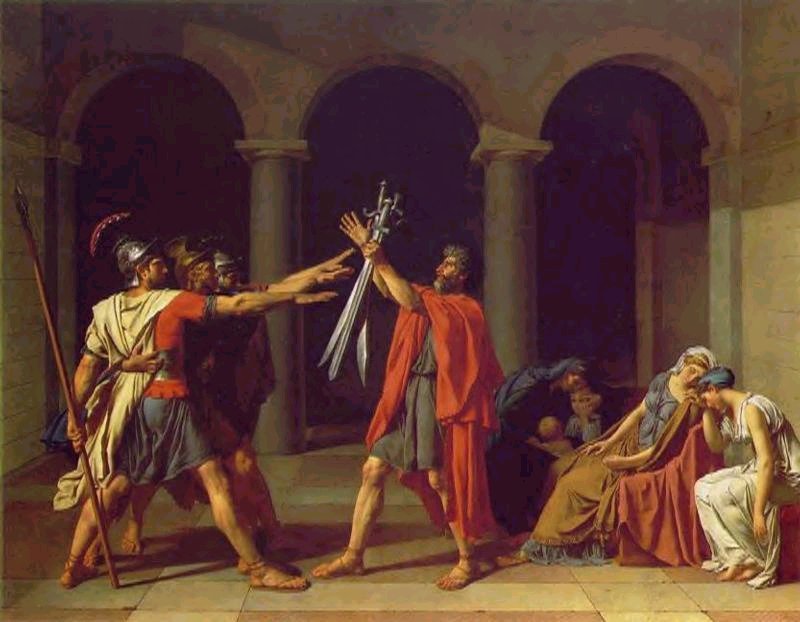 Jacques-Louis David Oath of the Horatii