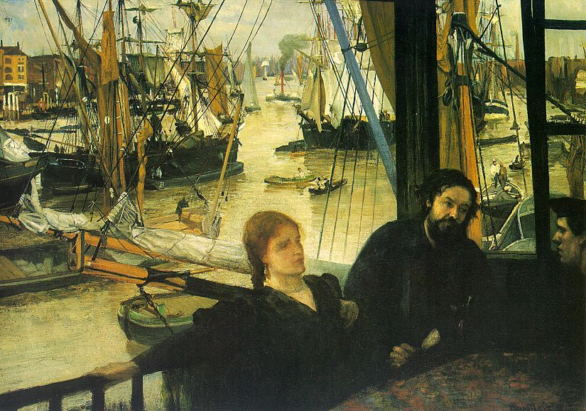 James Abbott McNeil Whistler Wapping