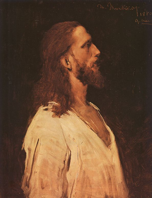 Mihaly Munkacsy Study for Christ Before Pilate