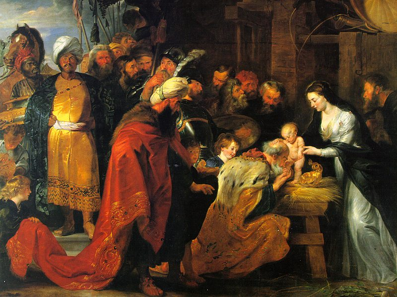 Peter Paul Rubens The Adoration of the Magi