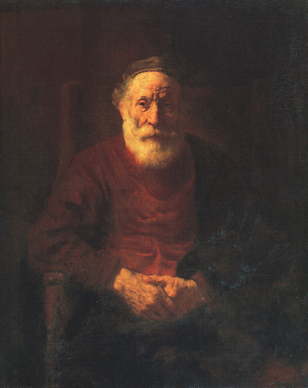 Rembrandt Portrait of an Old Jewish Man