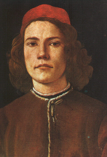 Sandro Botticelli Portrait of a Young Man_b
