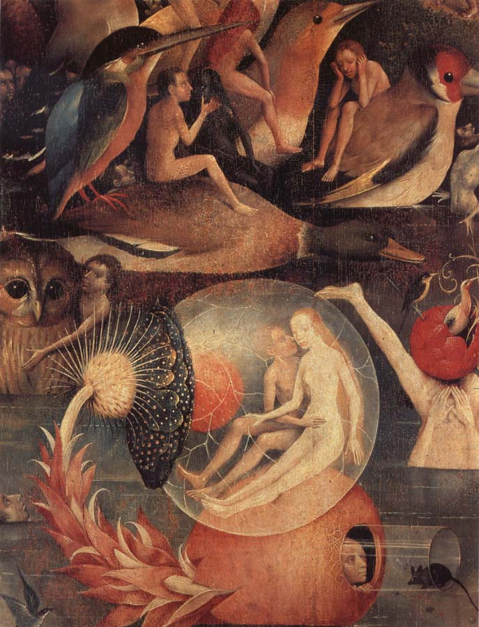the nature of the garden of earthly delights by hieronymus bosch