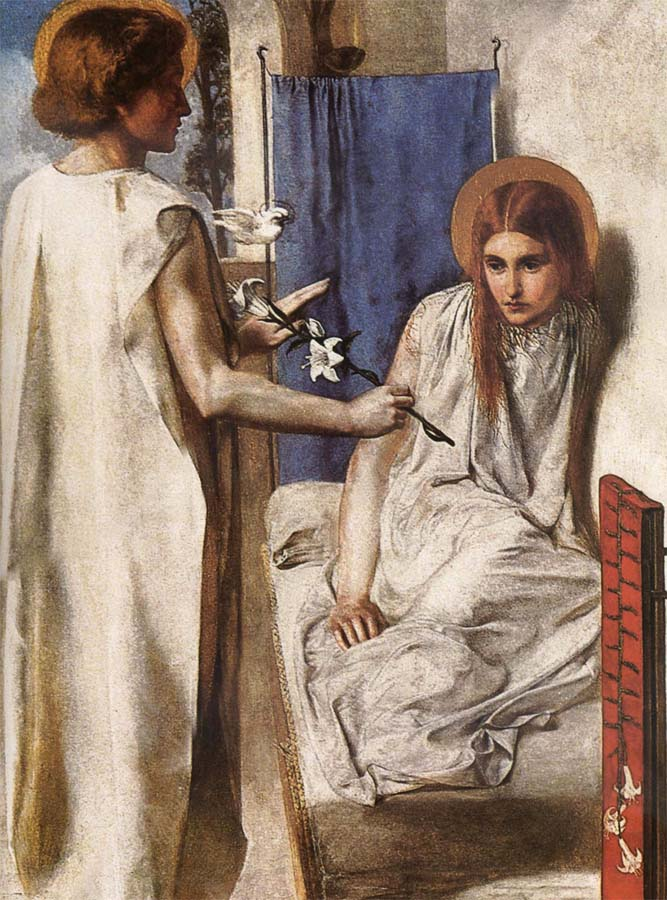 a comparison of rosettis ecce ancilla domini and lippis annunciation Ecce ancilla domini (here is god's maid) is an oil painting by english artist dante gabriel rossetti, first painted in 1850 the title the annunciation is also used for this work.
