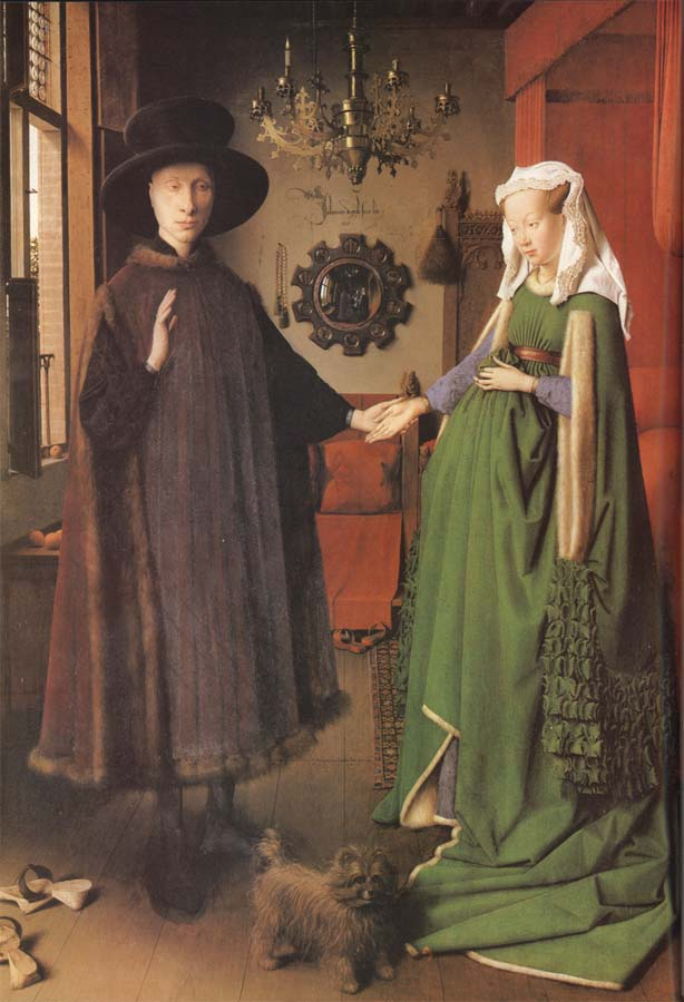 arnolfini and his bride Van eyck, the arnolfini portrait practice: van eyck, the arnolfini portrait next tutorial christus site navigation our mission is to.