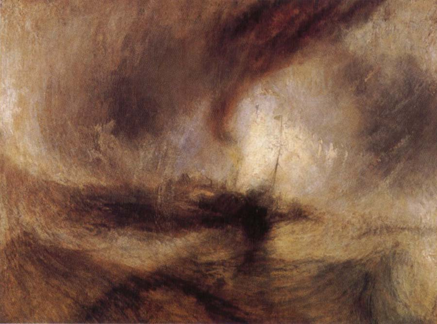 Joseph Mallord William Turner Snow Storm-Steam-Boat off a Harbour-s Mouth