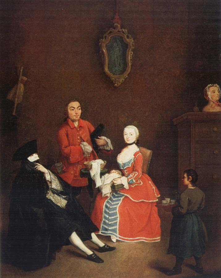 Pietro Longhi Visit of the Bauta