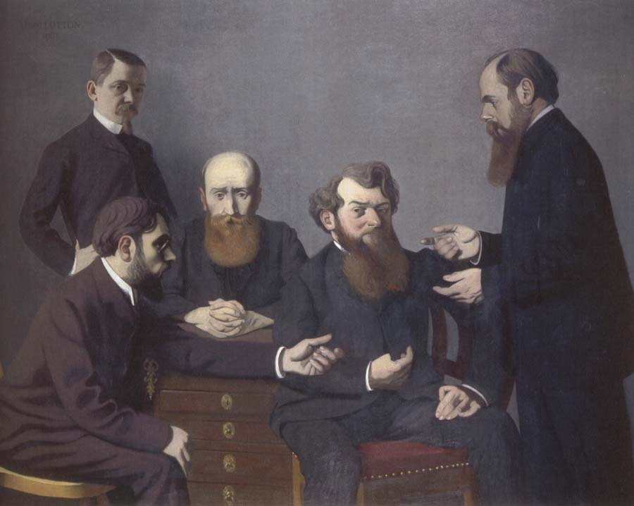 Felix Vallotton The Five Painters