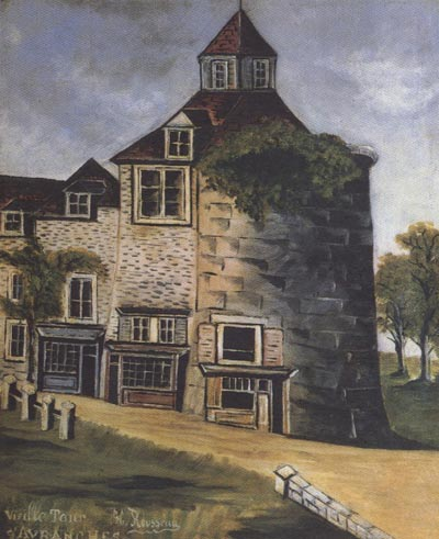 Henri Rousseau Old Tower of Avanches