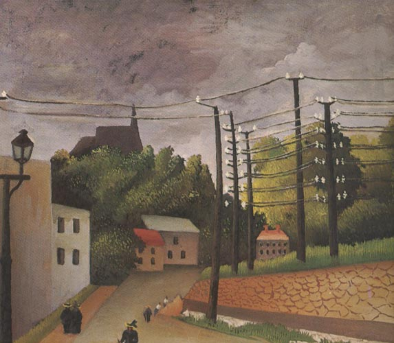 Henri Rousseau View of Malakoff