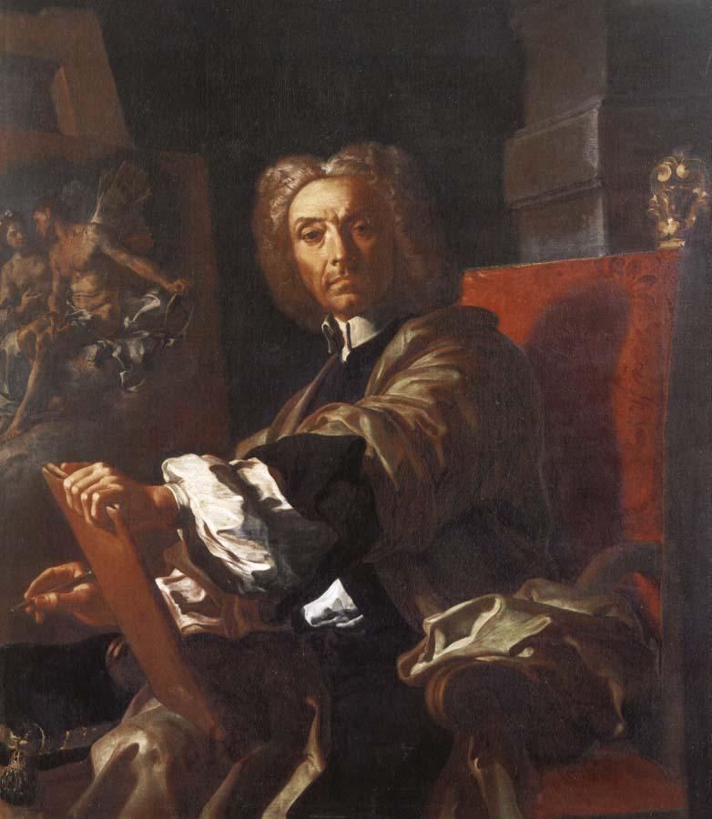 Francesco Solimena Self portrait
