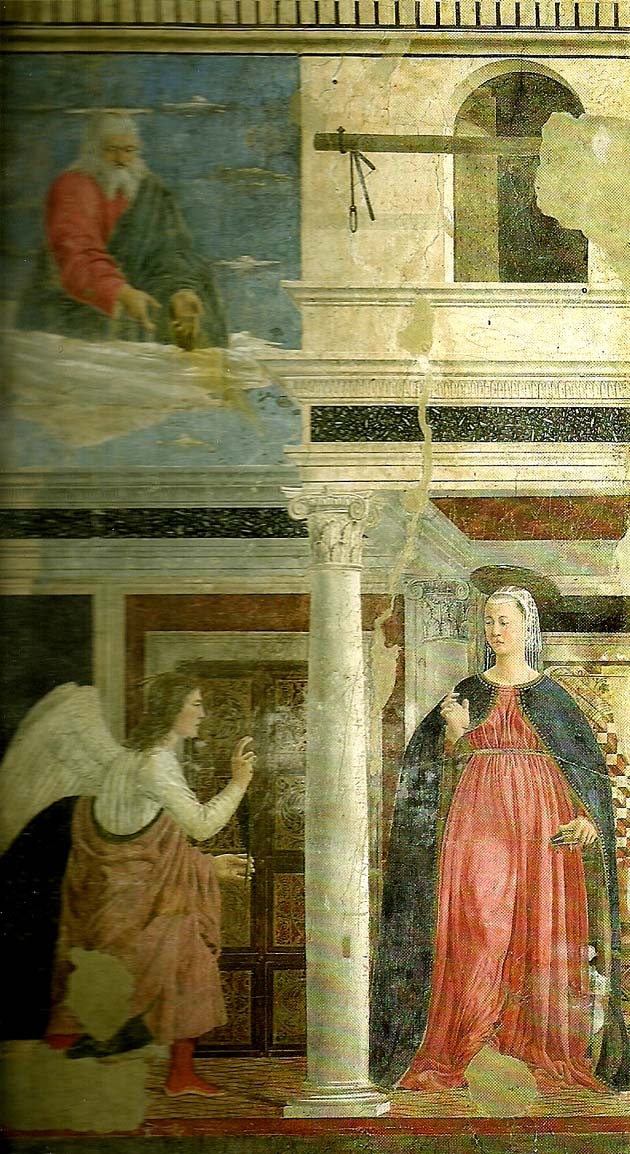 Piero della Francesca the legend of the true cross, detail