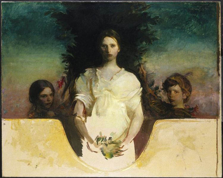 Abbott Handerson Thayer My Children