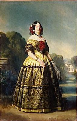 Franz Xaver Winterhalter Portrait of Luisa Fernanda of Spain Duchess of Montpensier