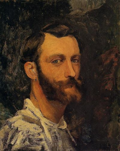 Frederic Bazille Self portrait