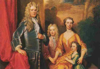 Sir Godfrey Kneller and his family