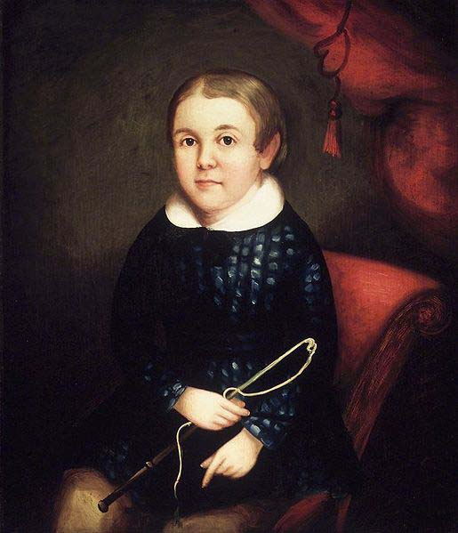 unknow artist Portrait of a Child of the Harmon Family