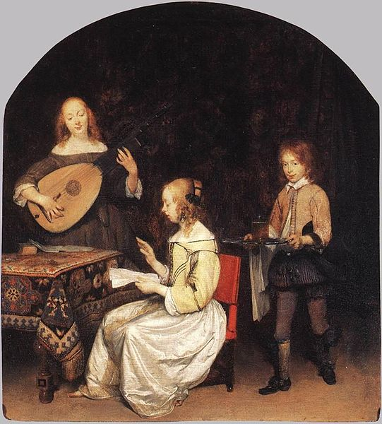 Gerard ter Borch the Younger The Concert