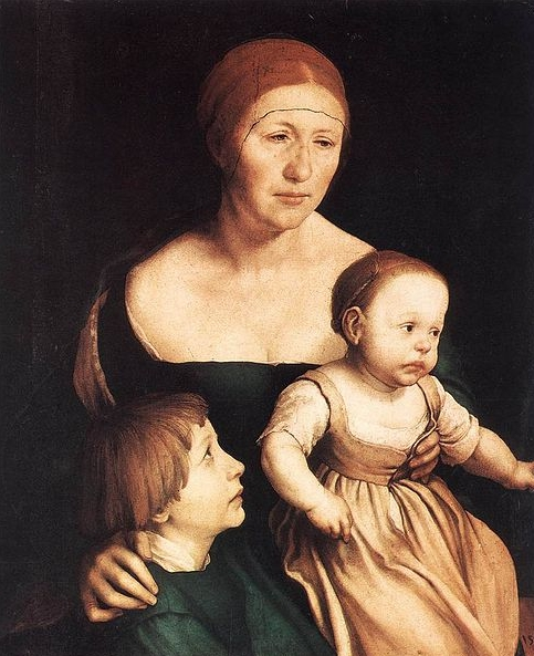Hans holbein the younger The Artist's Family