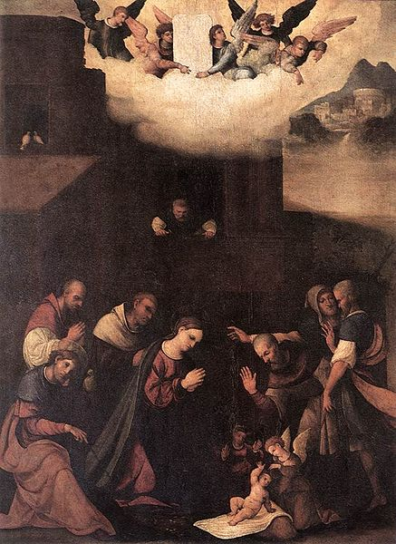 Lodovico Mazzolino The Adoration of the Shepherds
