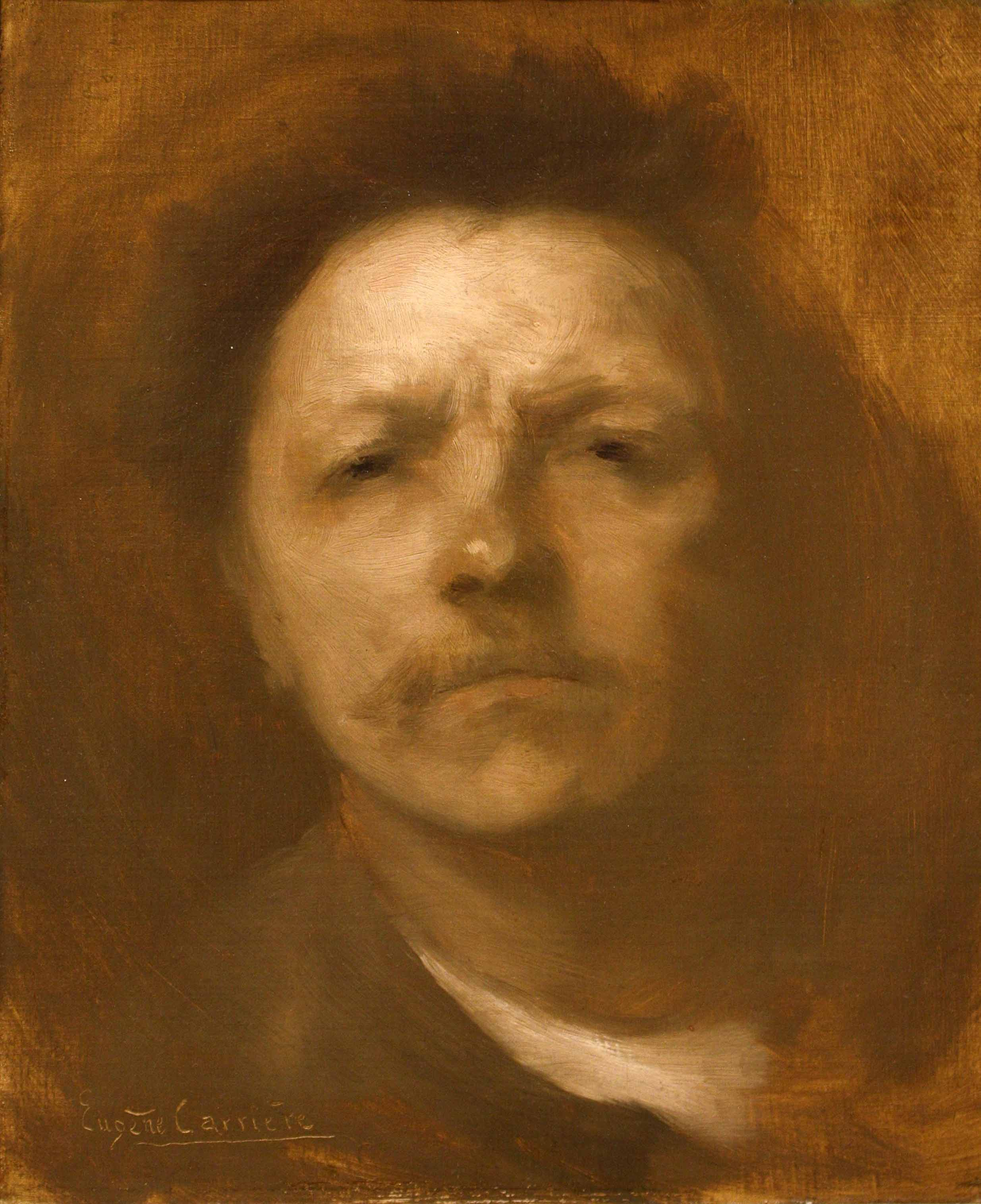 Eugene Carriere Self portrait