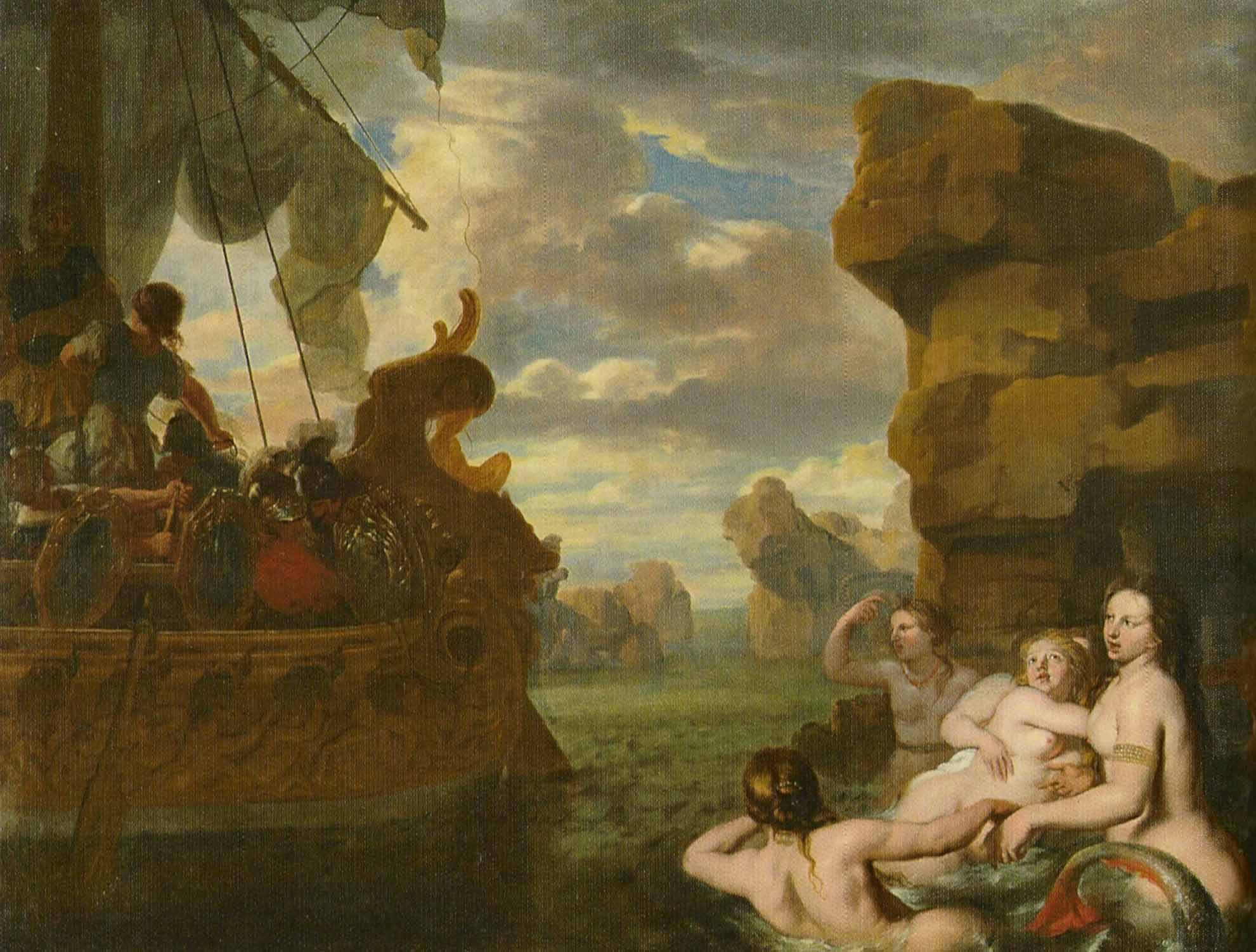 Pictures of sirens from the odyssey The Odyssey: A Deeper Appreciation