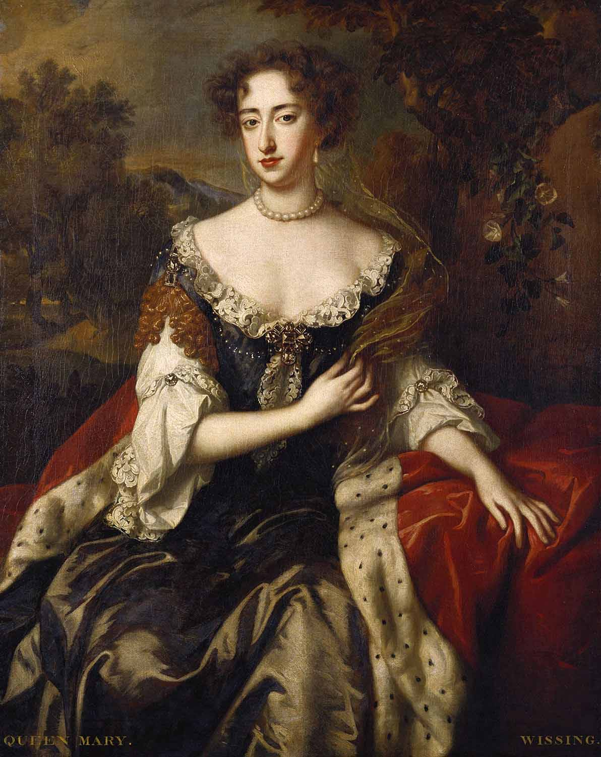 Willem Wissing Portrait of Queen Mary II