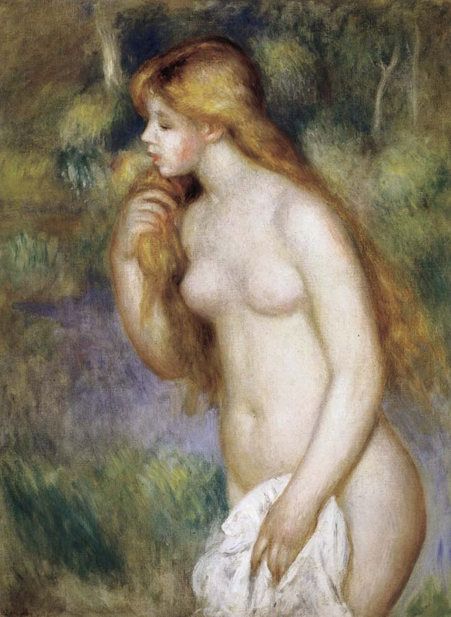 Pierre Renoir Bather Standing