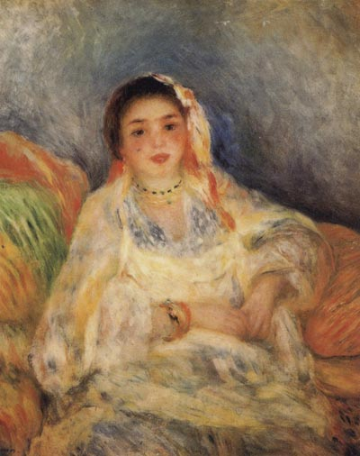 Pierre Renoir Algerian Woman Seated
