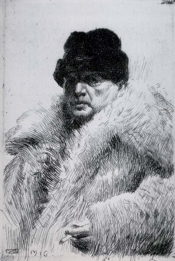 Anders Zorn Self Portrait