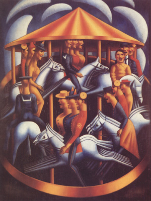 Mark Gertler The Merry-Go-Round (nn03)