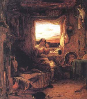 Mulready, William Interior of an English Cottage (mk25)