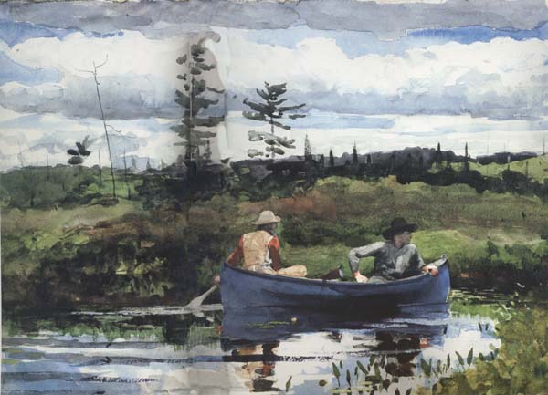 Winslow Homer The Blue Boat (mk44)