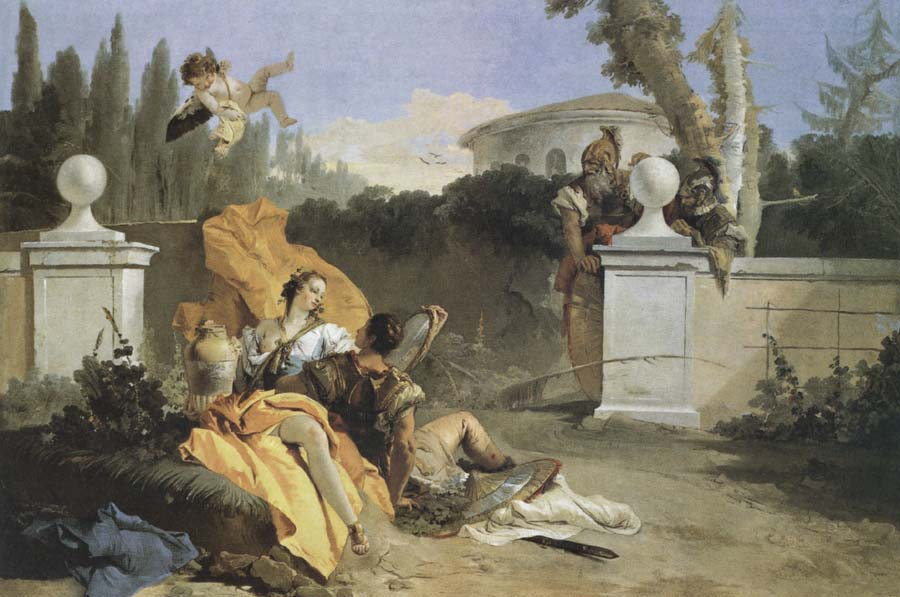 Giambattista Tiepolo Recreation by our Gallery