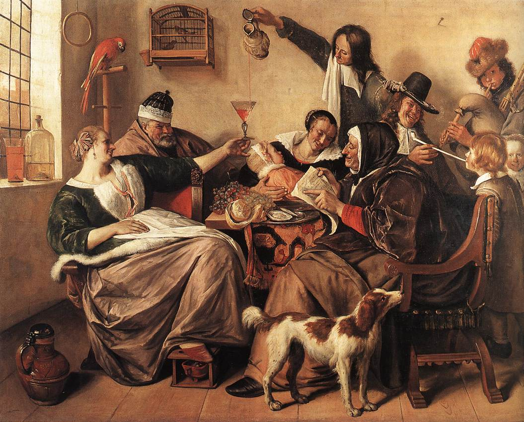 Jan Steen The Artist's Family