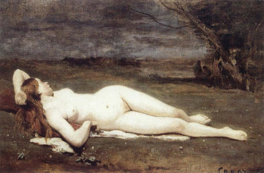Jean Baptiste Camille  Corot Recreation by our Gallery