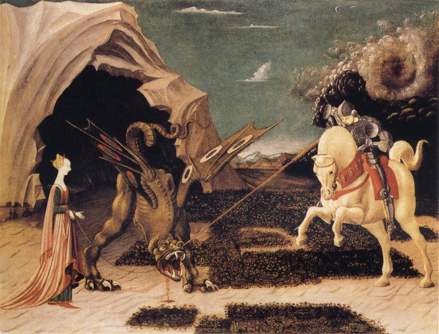 UCCELLO, Paolo St George and the Dragon