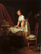 Louis Leopold  Boilly Young Woman Ironing Sweden oil painting reproduction