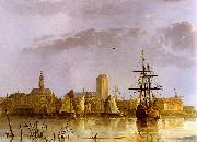 Aelbert Cuyp View of Dordrecht Sweden oil painting reproduction