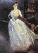 Albert Besnard Portrait of Madame Roger Jourdain Sweden oil painting reproduction