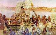 Alma Tadema, The Finding of Moses
