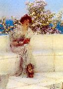 Alma Tadema, The Year is at the Spring