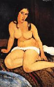 Amedeo Modigliani, Draped Nude
