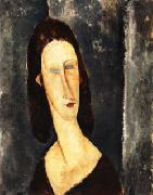 Amedeo Modigliani, Blue Eyes ( Portrait of Madame Jeanne Hebuterne )