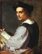 Andrea del Sarto Portrait of a Young Man oil painting picture wholesale